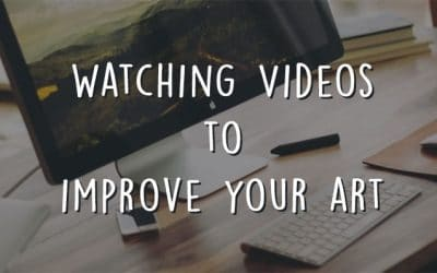 Watching Videos to Improve Your Art