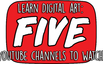 Learn Digital Art: Five YouTube Channels You Must Watch